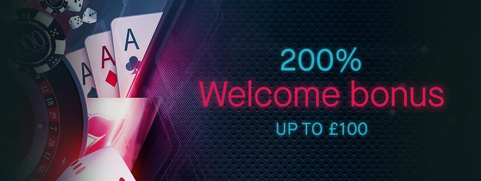 200 First Deposit Bonus